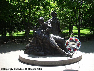 Monuments & Memorials -- Vietnam Women's Veterans Memorial